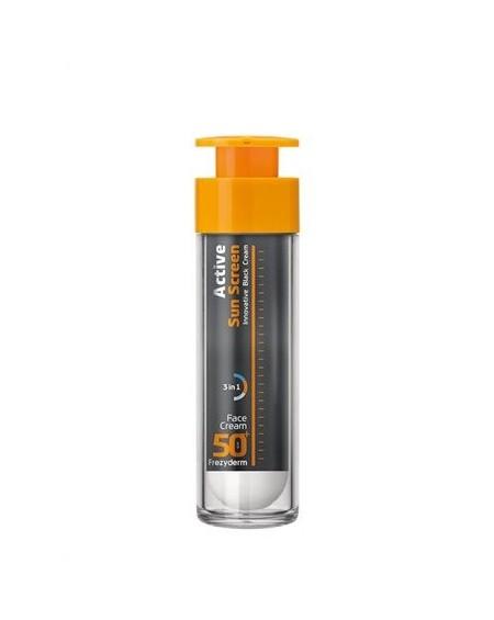 FREZYDERM - ACTIVE Sun Screen Face Cream SPF50+ - 50ml