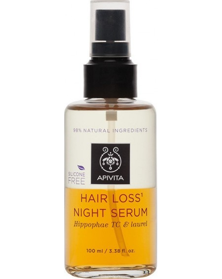 Apivita hair Loss Night Serum Hippophae TC & Δάφνη 100ml