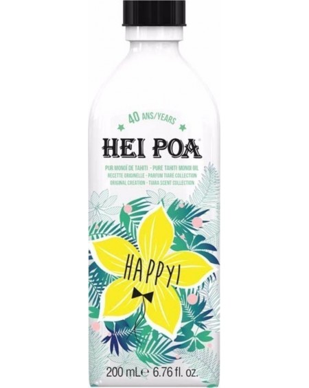 HEI POA TAHITI MONOI OIL WITH TIARA-HAPPY 100ML