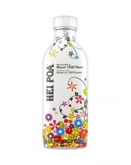 "HEI POA Monoi Oil 1.000 Flowers ""1000 Άνθη"" Λάδι Monoi πολλαπλών χρήσεων με άρωμα Λουλουδιών, 100 ml"