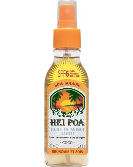 Tahiti Monoi Oil Coco Spray SPF6 100ml