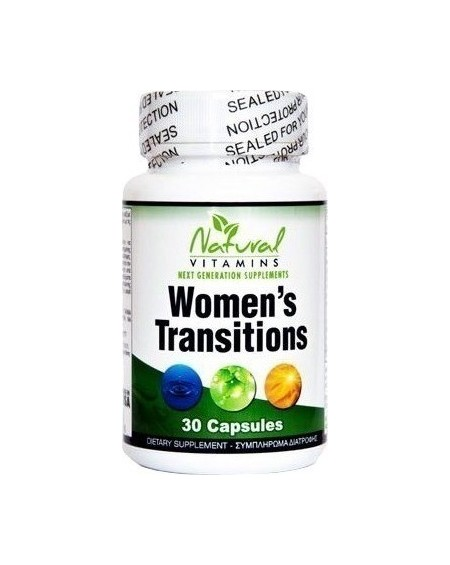 NATURAL VITAMINS WOMEN'S TRANSITIONS 30 ΚΑΨΟΥΛΕΣ