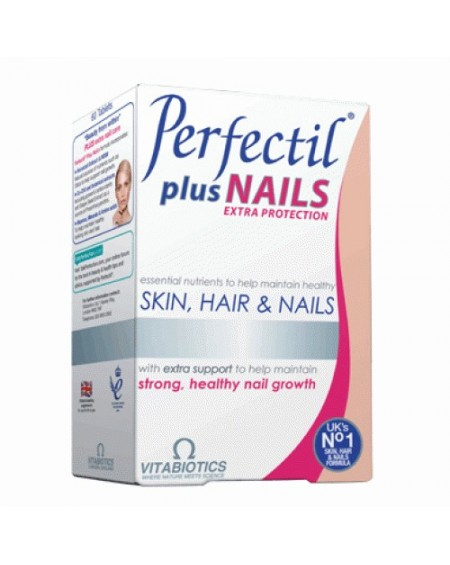 Vitabiotics Perfectil Plus Nails 60 caps