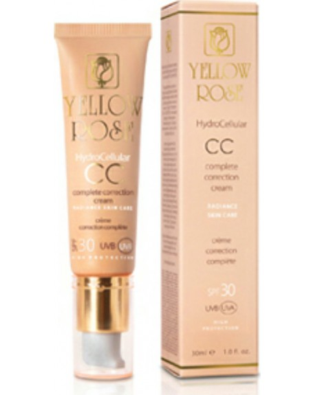 Yellow Rose Hydrocellular CC cream SPF30 Light 30ml
