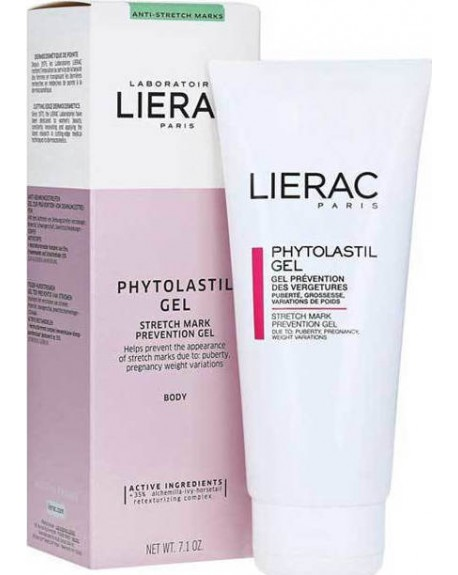 Lierac Phytolastil Gel για την Πρόληψη των Ραγάδων 200ml