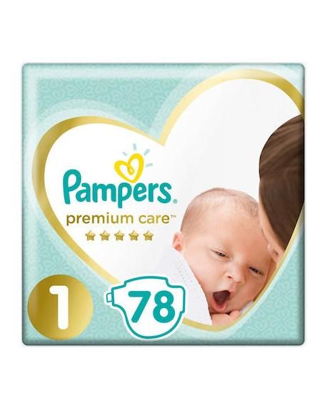 Pampers Premium Care No 1 (2-5Kg) 78τμχ